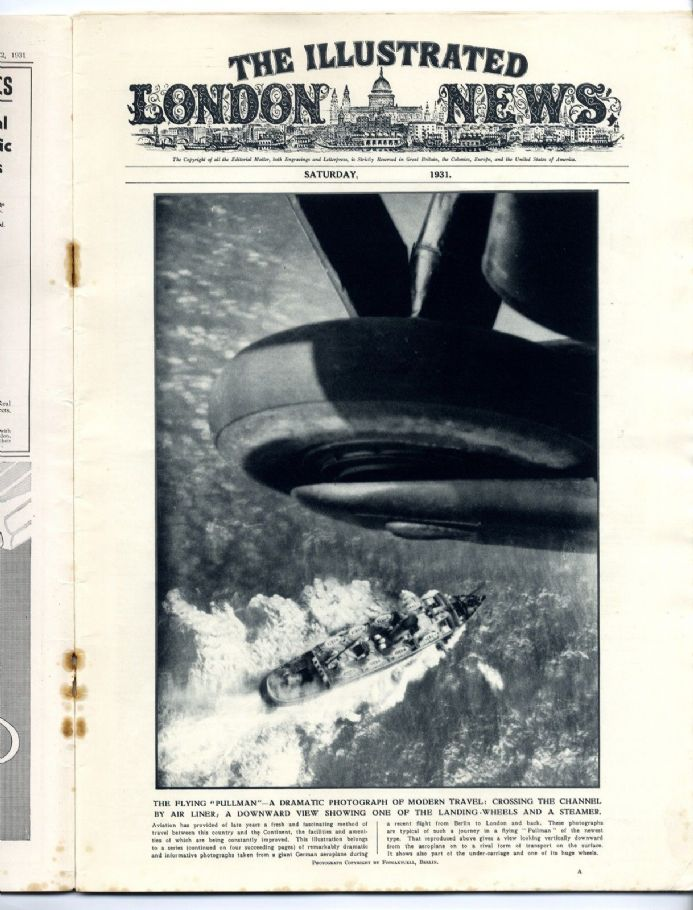 1931 ILLUSTRATED LONDON NEWS Blackpool Lancs RIDING MOUNTAIN PARK MANITOBA (8184